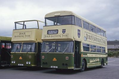 Dublinbus D464_D413 Broadstone Depot Dublin Jun 00
