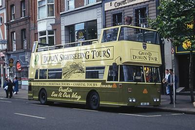 Dublinbus D413 O Connell St Dublin 2 Jul 97