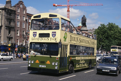 Dublinbus D607 O Connell St Bridge Dublin Jun 99