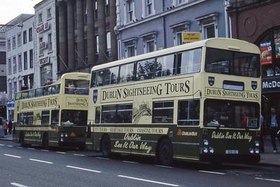 Dublinbus DF603 O Connell St Dublin Jul 98