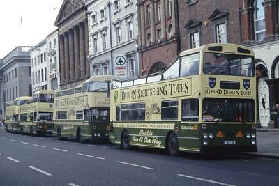 Dublinbus D607 Line Up O Connell St Dublin Jul 97