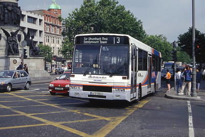 Dublinbus AD43 O Connell St Dublin Jul 97