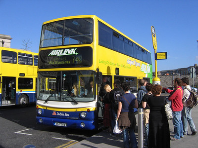 DublinBus AV124 Heuston Stn Dublin 1 Jun 06