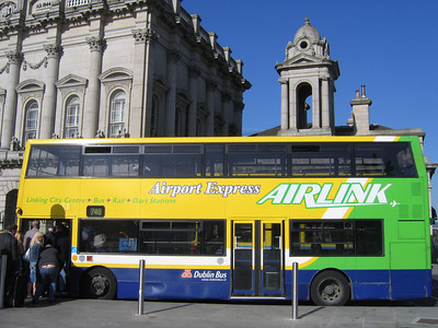 DublinBus AV124 Heuston Stn Dublin 2 Jun 06