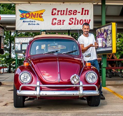 Dub's N Dog's Sonic Cruise-In Suwanee June 2018