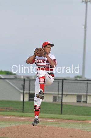 Dubuque Senior at Clinton baseball (5-28-15)