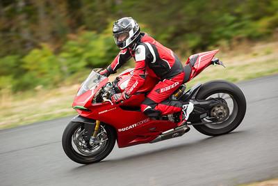 Ducati Bellevue track day on September 08, 2014 at The Ridge Motorsports Park in Shelton WA, USA.  Photo credit: Jason Tanaka