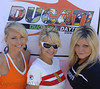 DucatiDayDaytona 2007, Daytona Beach Florida : It's almost that time again, here's a look at last years DDD..... DucatiDayDaytona, it's a Daytona tradition and in 2007 it became part of the biggest Daytona tradition of all, Daytona Speedway. Hosted by Ducati North America in Ducati Village at the Speedway Hospitality Village, Ducati.Net's DDD saw over 10,000 enthusiasts enjoy the perfect weather, and Ducati festivities. Join us for the pictures that tell the story. Photos by Steve Leukanech and Vicki Smith