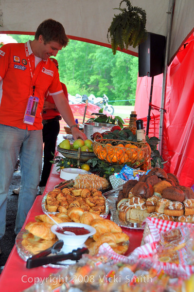 Ducati Island hospitality is well known and open to all Ducati owners