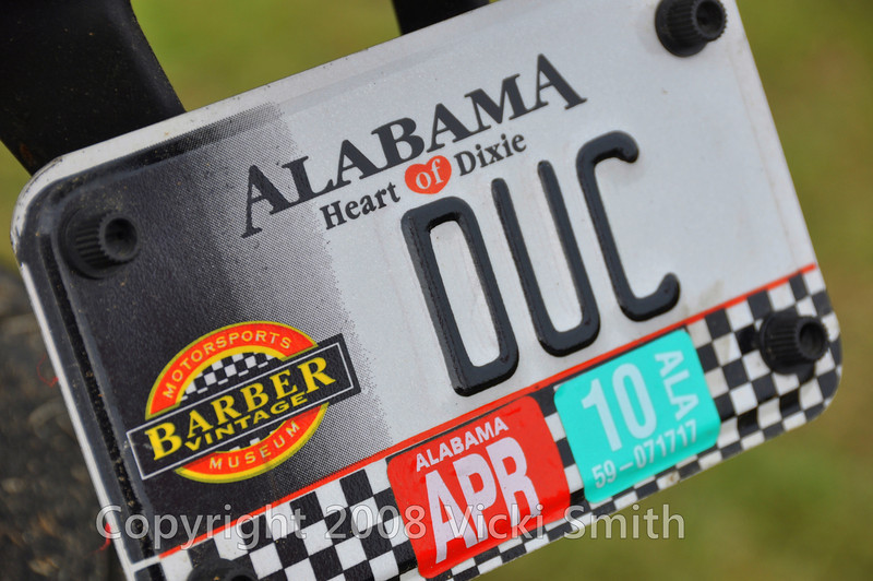 Barber Vintage Museum, Alabama and Ducati's.  That's what this weekend was all about