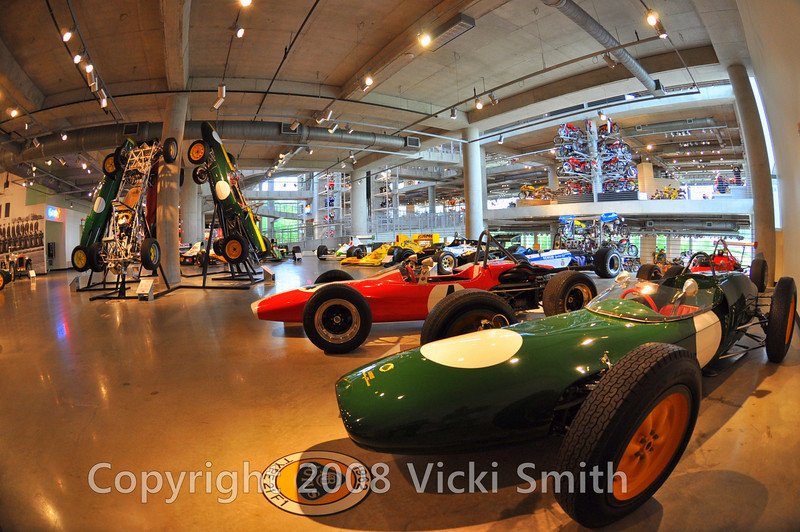 And plenty of race cars as well including the Mario Andretti/Andy Granitelli 4 wheel drive Indy car