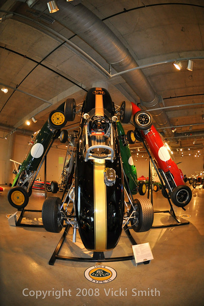 Barber Vintage Museum has the largest collection of Lotus cars in the world.
