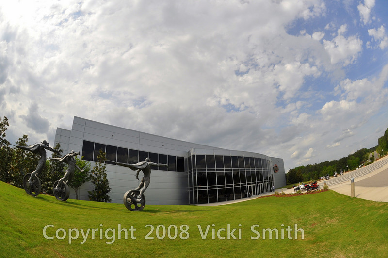 Barber Museum is the largest and finest Motorcycle museum in the world.  It's a perfect blend of art, motorcycles and green space
