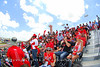 Ducati grandstand is getting redder by the minute