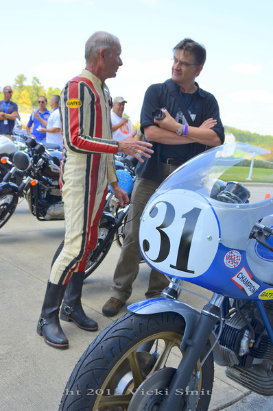 Pierre Terblanche talks to Cook pre-ride
