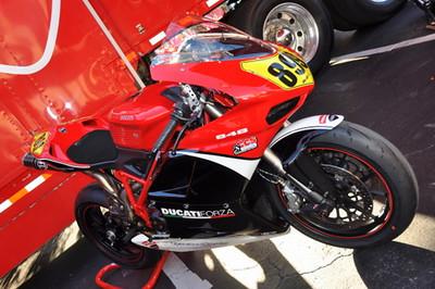 Ducati Forza's 848 racer