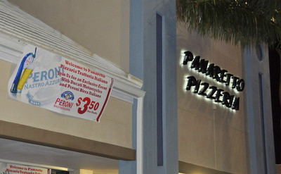 Pizza Panaretto and Peroni Beer welcomes Ducati North America and the Ducati Owners Club of South Florida for a great night under the stars