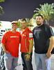 The Ducati Forza Staff with Chris Jones from Ducati North America (center)