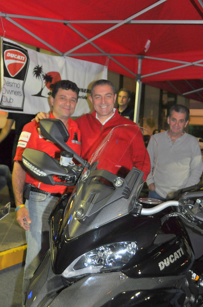 The Ducati Miami gang was out in force