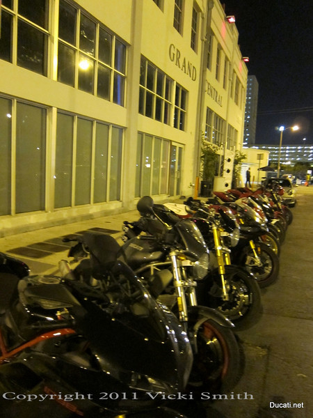 Just park your Ducati at the front door