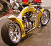 Yep, it's a Ducati! Donny Jackson and Leipers Fork Choppers will build you one if you want. It was entered in the Special's class.