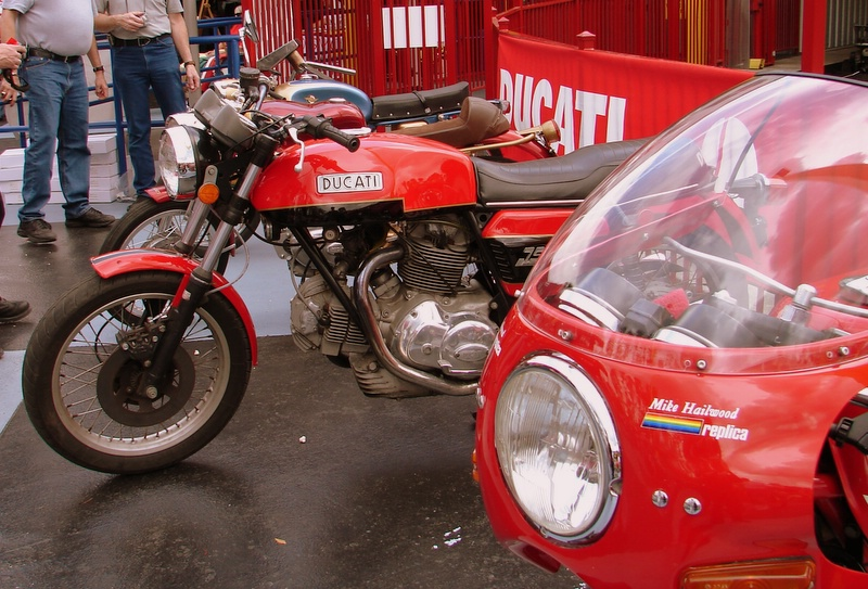 2006 saw the addition of a true concours class to Concourso DucatiDayDaytona. As usual, some excellent examples were on hand to vie for the CycleCat trophies.