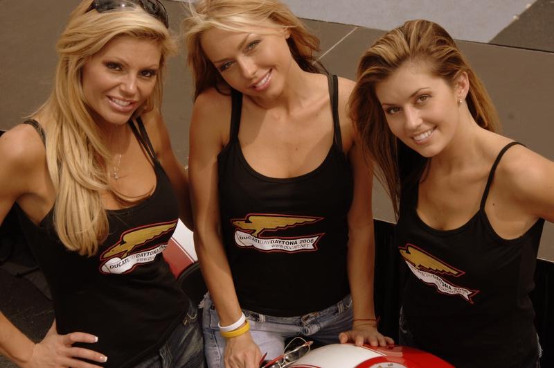 Welcome to DucatiDayDaytona 2006! Photos by Steve Leukanech and Vicki Smith