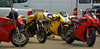 More than 100 Ducati's took part in the track day