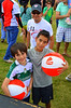 These brothers looked pretty happy to have both managed to score a beach ball.  This is the last pic I took from the weekend.  I think it might be my favorite....