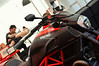 New Diavel. You could swing a leg over all of it.