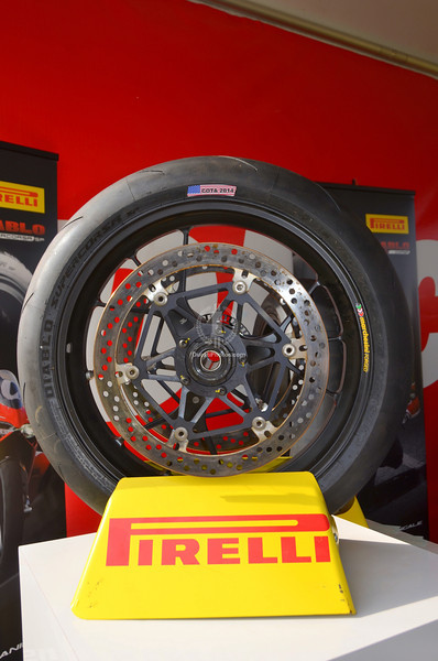 Or Pirelli and get the answers you need to make your Ducati your vision of Perfect.  (If you asked nicely you could have been rewarded with a pair of these cool tire markers and maybe a t-shirt as well!)