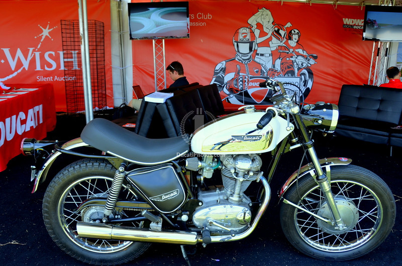 This is the Ducati Owners Club Lounge