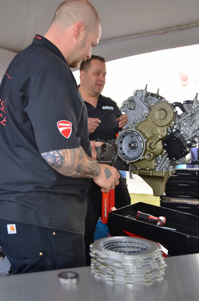 Or the top Panigale techs in N. America
