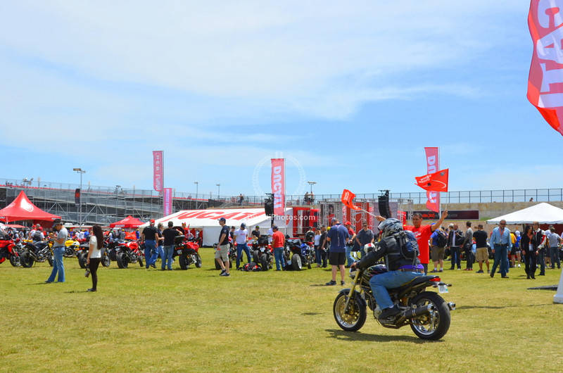 Ducati Island runs on volunteers, Ducati owners for the most part who come out to smooth the way for the rest of us.