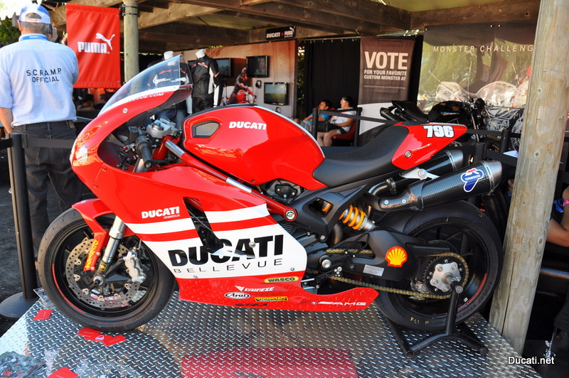 We show off the bikes we have been working on all year