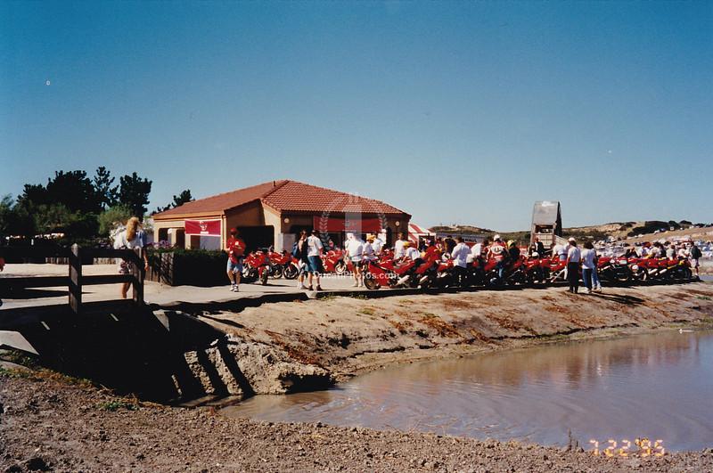 Ducati Island, the beginning.