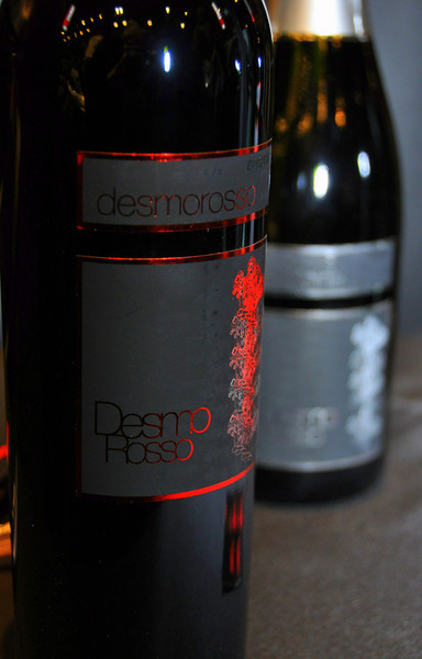 Desmo Rosso, the new Ducati red wine