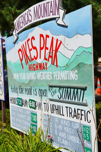 Pikes Peak, the mountain and the event.