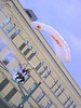 Red Bull puts on a crazy hot parachute jump show