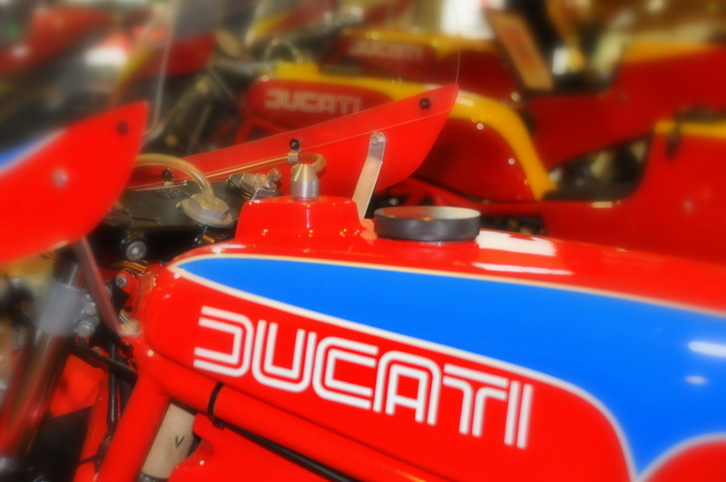 Ducati TT's are somewhat misunderstood.  They are not named after the Isle of Man and the TT2 came before the TT1 (TT stands for Tourist Trophy and the 2 is for Formula 2, the 1 for Formula 1, the classes that bikes were built for)  The bikes were factory racers, completely handbuilt by the original NCR team, who were Ducati Corse at that time. The production line was in the factory raceshop. They are the closest thing Ducati has EVER offered to what the factory was racing at the time.  Produced in extremely low numbers and hand built by Rino Caracchi, Giorgio Nepoti, and Franco Farne, they have the highest pedigree of any Ducati's ever made. Officially, in 1982 and 1983 about 20 TT2's were built and even fewer TT1's thru 1984 and 1985.  Impossibly small numbers by todays standards.