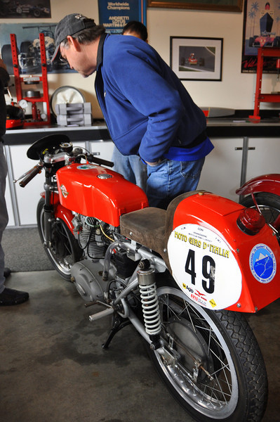 Ex Motogiro d'Italia 175 Ducati, part of the Ralph Stechow collection