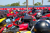 Parking was plentiful within the event, a rare pleasure during bike week - lots of owners took advantage of the exclusive space
