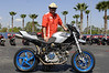 Eric Whitanable of Desmohio DOC shows off a very trick Hyper-Multistrada