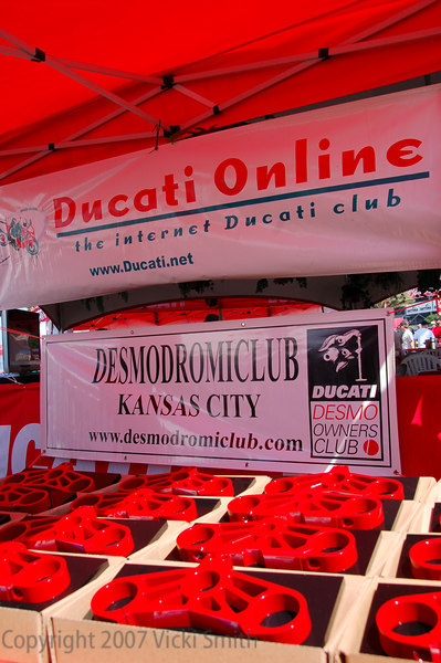 The Cycle Cat trophies was exceptional.  Prizes well worth winning. Ducati.net appreciates thier long time support