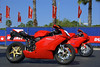 For 2008 DDD hosted the first round of the Ducati Superbike Concorso. Superbikes started rolling in on Wednesday, all competing for a trip for two to the Ducati Factory being awarded on te spot in Friday to the overall round winner
