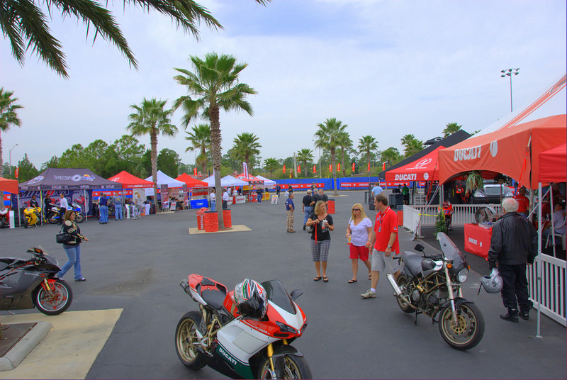 Ducati Island,early Thursday am.......