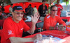Team Ducatisti was manning the battle stations. Thanks, there's no way we could do this stuff without your dedicated help