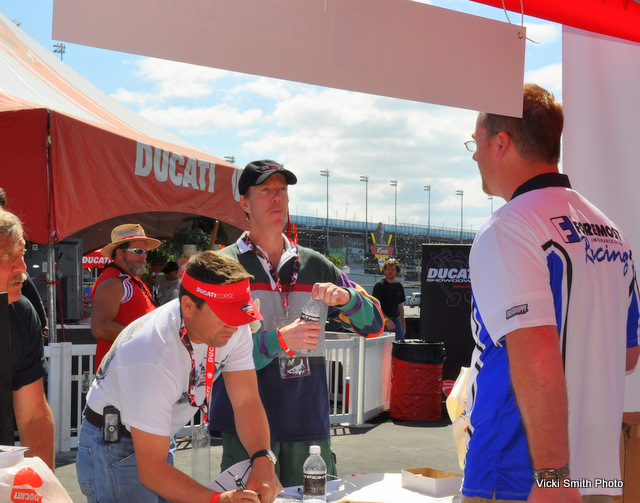 Foremost Insurance teamed up with Binda watches.  The popular results kept the ultra-professional Foremost staff busy all day