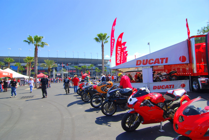 And the Concorso DucatiDayDaytona is ready for judging