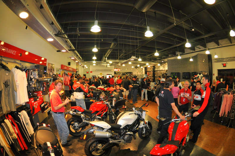 It all finished up with a party at Ducati Daytona